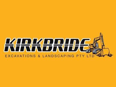 Kirkbride Excavation And Landscaping Logo